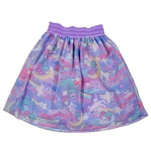 LITTLE TWIN STARS DREAMY UNICORN TULLE SKIRT